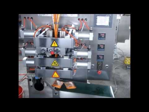 Automatic juice beverage doypack pouch packing machine