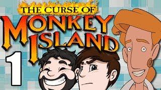 The Curse of Monkey Island - PARTE 1 - Un intento de pirata
