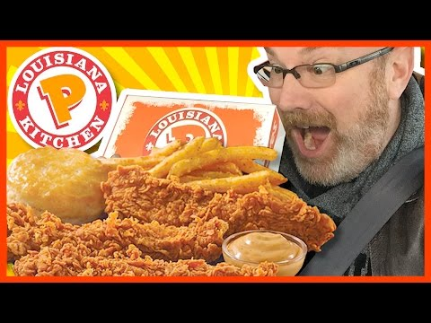 Popeyes Pepper Barrel Tenders Review (I missed this one last year)
