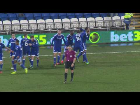 KENNETH ZOHORE WONDER GOAL v PRESTON