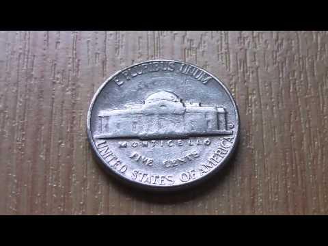 5 Cents USA coin - E Pluribus Unum in HD