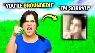 I Got Him Grounded From Fortnite..