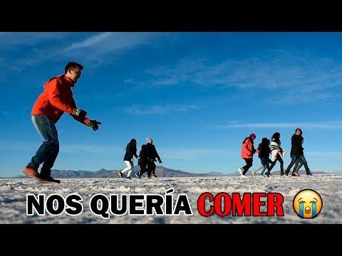 24 horas dentro del SALAR + GRANDE del MUNDO UYUNI BOLIVIA I Turismo con Pao 🥶
