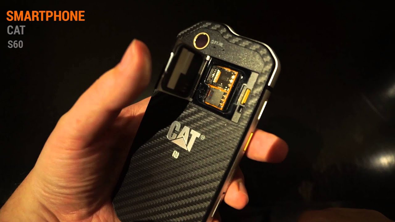 CAT S60 Rugged Smartphone Hands On Test