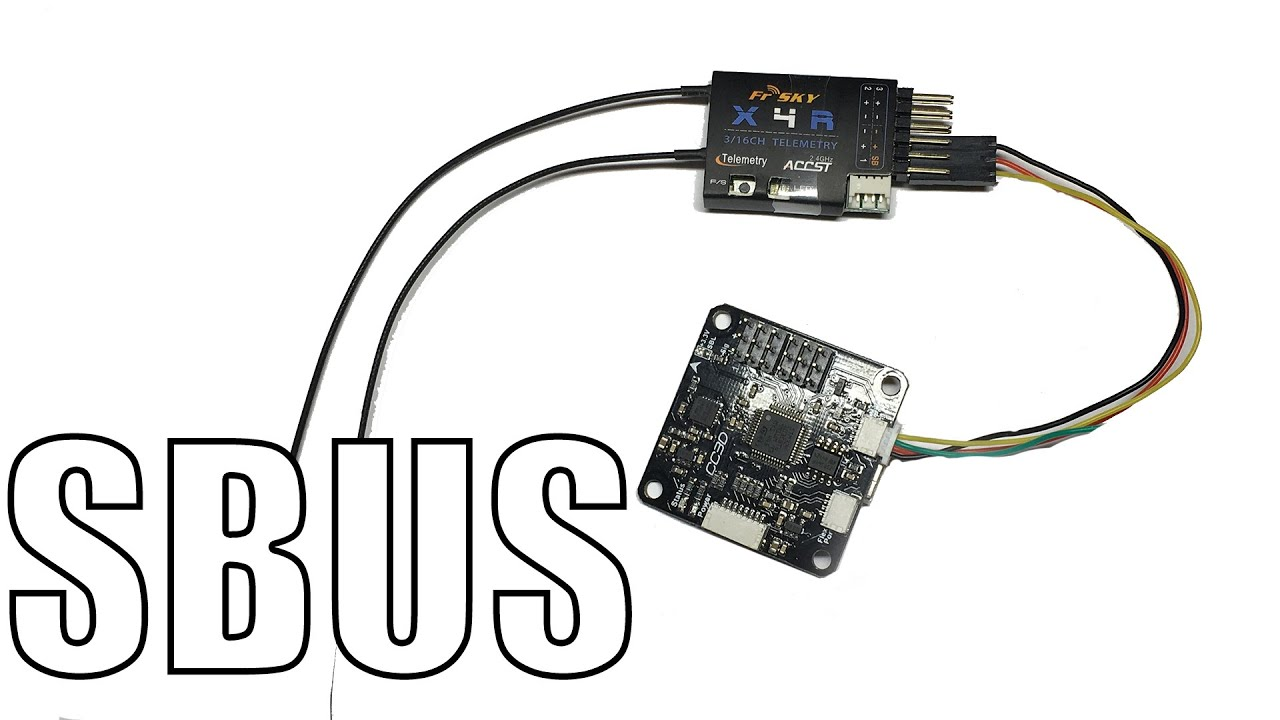 how to sbus with cc3d (betaflight) \u0026 x4r x6r x8r