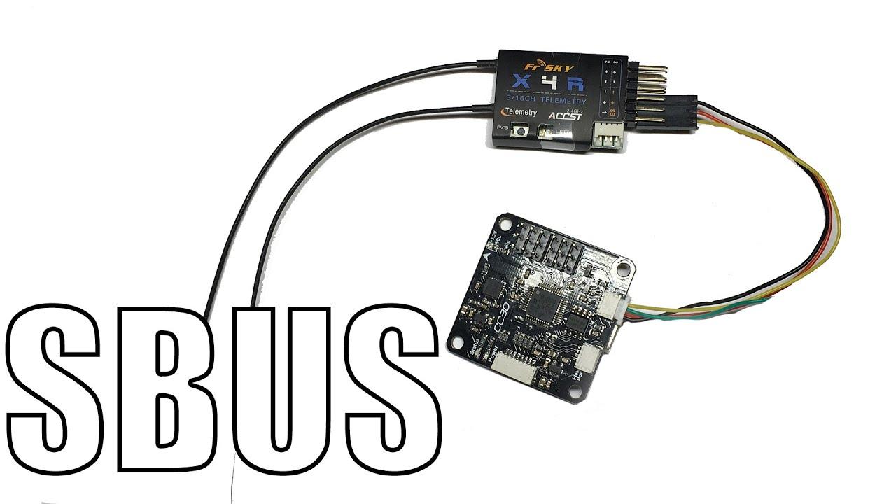 How to: SBUS with CC3D (Betaflight) & X4R  X6R  X8R