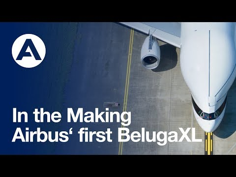 In the making: Airbus first BelugaXL
