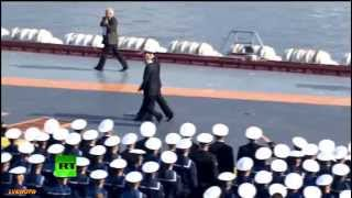 Russian Navy Day Parade in Severomorsk July 27,2014 pt2