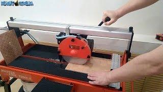 Плиткорез за 23000 рублей для ремонта в квартире. Обзор и тест резки плитки алмазными дисками