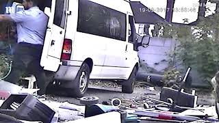 CCTV catches the moment man DUMPS 10 tonnes of waste