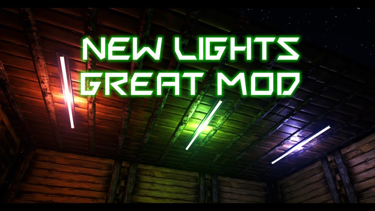 Ark Mod Spotlight Additional Lighting