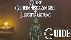 ZELDA: BREATH OF THE WILD - Quest - Geheimniskrämerei + Leuchtrüstung