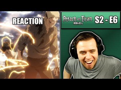 MY MIND JUST GOT BLOWN! - Attack On Titan Season 2 Episode 6 - Rich Reaction