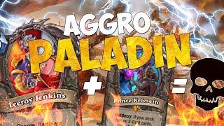 AGGRO PALADIN - VELOCISSIMO E IGNORANTISSIMO!! [HEARTHSTONE ITA]
