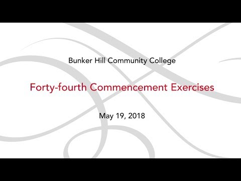 BHCC Commencement 2018