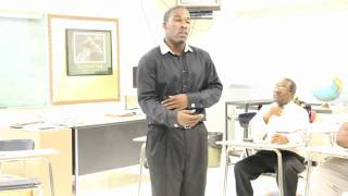 Stones Cry Out: Joed Esperance Speaks @ Newburgh Free Academy on Haiti & His Vision