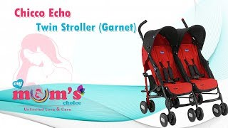 chicco echo twin stroller folded | Best infants and toddler Double Umbrella Strollers | Mymumschoice