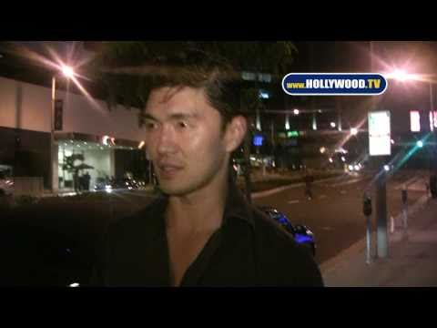 Rick Yune Was an Escort for Halloween!!