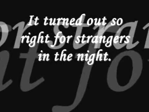 Frank Sinatra  Strangers in the night   Phil Sweet