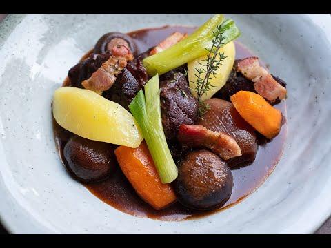 Boeuf bourguignon, Rinderragout auf französische Art mit dem Chefkoch Thomas Sixt zubereiten