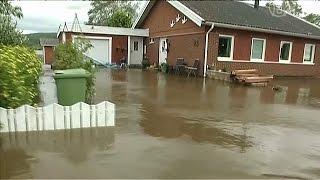 Восток Швеции восстанавливается от наводнений (новости)(, 2014-08-22T07:59:30.000Z)