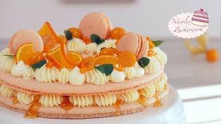 Macaron Torte I absoluter Hingucker auf eurer Kaffeetafel I Rezept von Nicoles Zuckerwerk