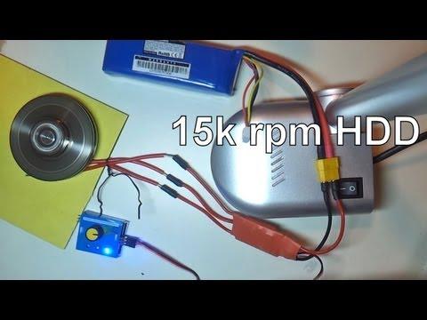 Контроллер бесколлекторного двигателя своими руками