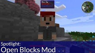 Spotlight: Open Blocks Minecraft Mod