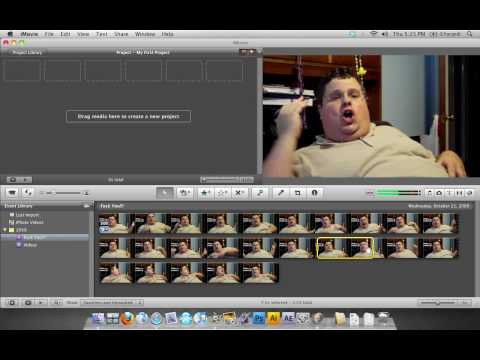 How to censor word with iMovie