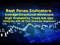 Forex Trading Best Indicator Using the ADX  4 Chart Set Ups For High Profits