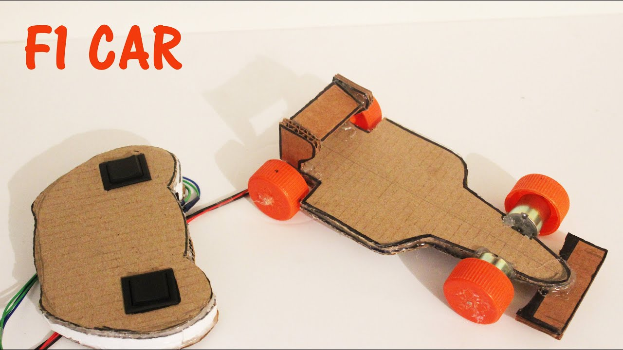 How To Make A Battery Operated F1 Car With Remote Control