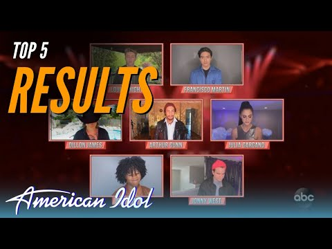 American Idol Top 5 RESULTS | American Idol Finale
