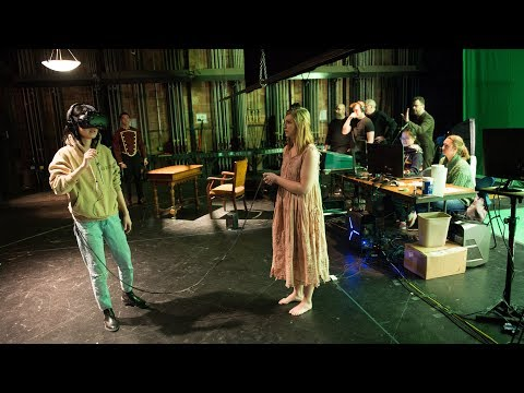 New theater experience blurs line between reality and virtual reality on YouTube