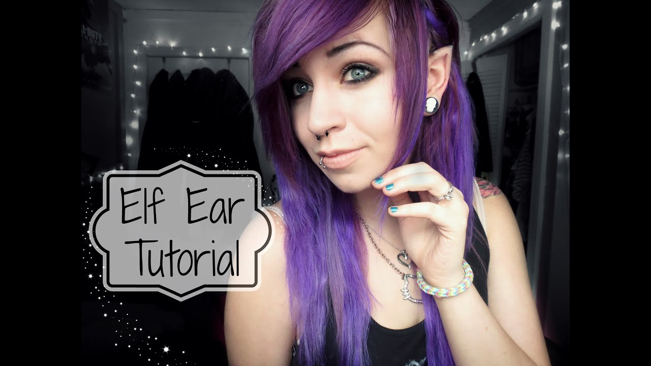 Elf Ear Tutorial