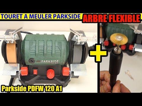 touret a meuler parkside lidl arbre flexible 120w Bench Grinder With Flexible Drive Shaft
