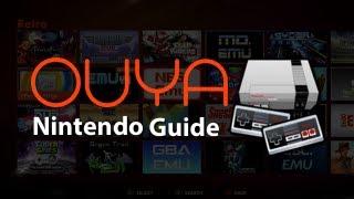 Ouya Nintendo Emulator Guide - How To Install ROM's On The Ouya + Gameplay