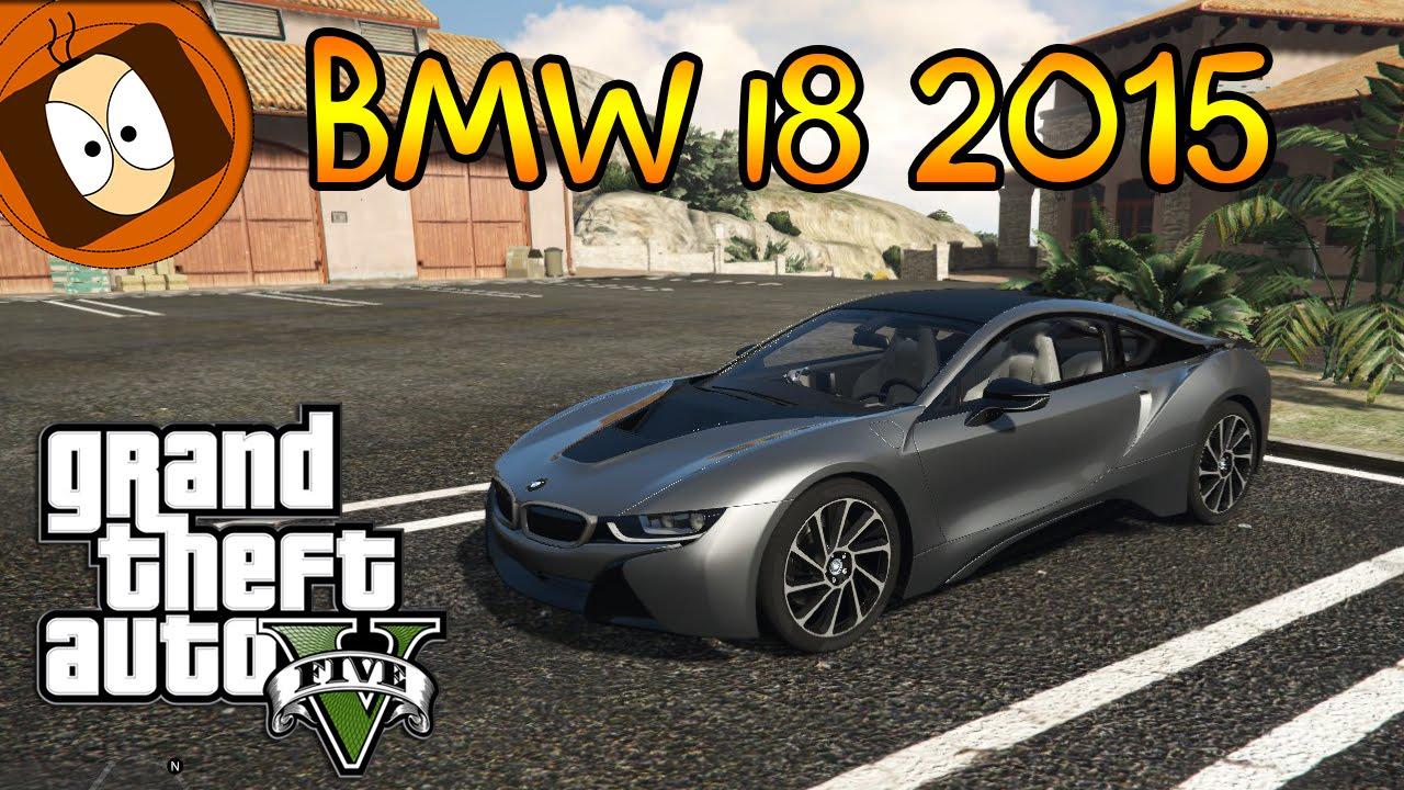 Gta 5 Test De La Bmw I8 2015 Luxueux Et Futuriste Mod Pc