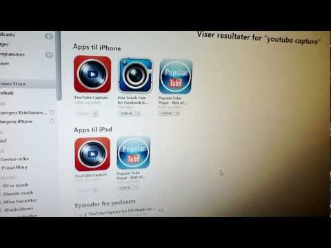 App YouTube Capture i iTunes
