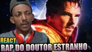 Rap do Doutor Estranho - MAGO SUPREMO DO UNIVERSO | NERD HITS #REACT