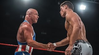 Image result for Cody Rhodes vs Kurt Angle cage match