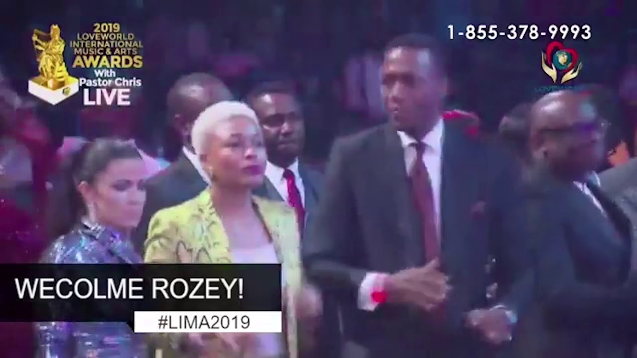 Download ROZEY'S PERFORMANCE AT LIMA AWARDS 2019 WITH PASTOR CHRIS OYAKHILOME