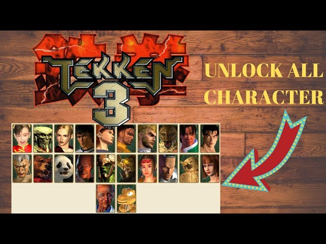 How To Unlock All Characters In Tekken 3 Pc Edition Game Viral