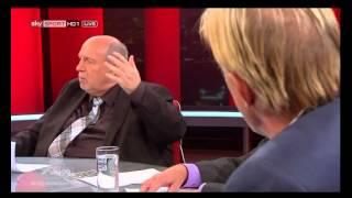 Christoph Daum wuetend in TV Talk wegen Koks Skandal - 23.9.2012 Die Fussballdebatte