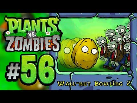 Plants vs. Zombies | Mini Games: Wall-nut Bowling 2 (iOS Gameplay Walkthrough)