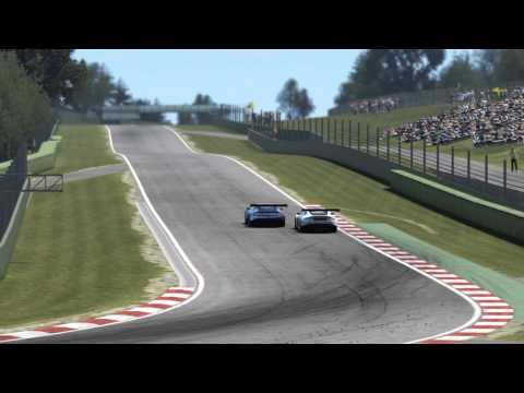 European GT3 Championship Round 2 Battle for 2nd place