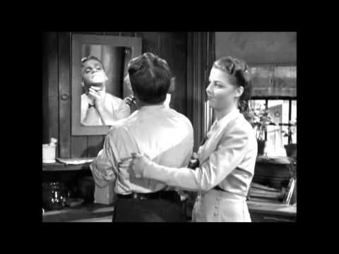 City for conquest   (1940) - holící scéna