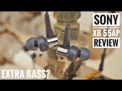 SONY XB 55AP Review! Best earphones under Rs2000!?