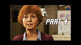 MARVEL'S SPIDER-MAN Walkthrough Part 4 - Aunt May (PS4 Pro 4K Let's PLay)