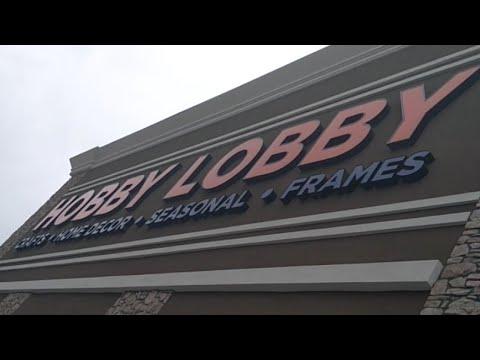 GRAND OPENING HOBBY LOBBY IN OCEANSIDE, CALIFORNIA