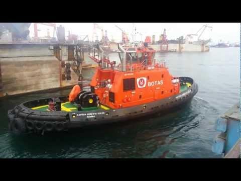 Delivery of Kaptan Süreyya Güler